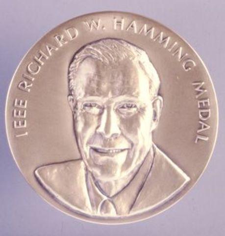 IEE Richard W. Hamming Medal