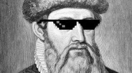Antes de A. Gutenberg. timeline