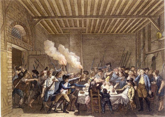El pueblo llega hasta Luis XVI
