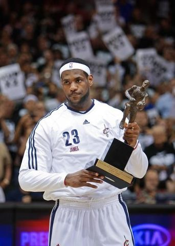 HE WON FOR SECOND TIME THE NBA'S MVP AWARD