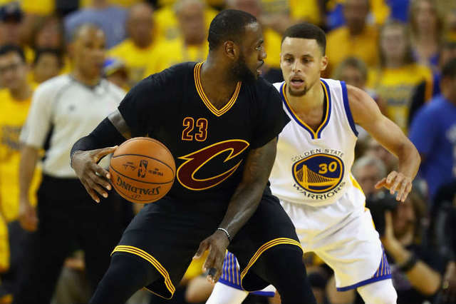 CAVALIERS WON THEIR FIRST FINAL WITH LEBRON
