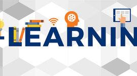 Evolución del E-learning timeline