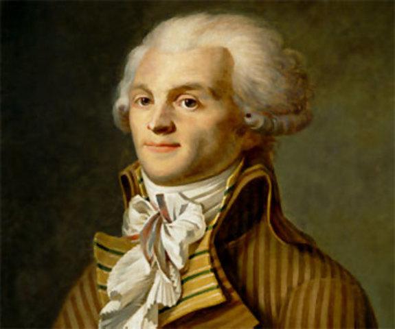 Robespierre es elegido para representar al tercer estado.