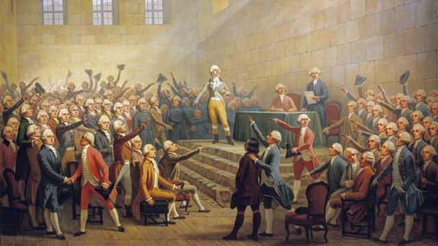La Asamblea Nacional anunció el fin del feudalismo en Francia.