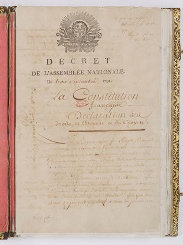 La Constitución francesa.