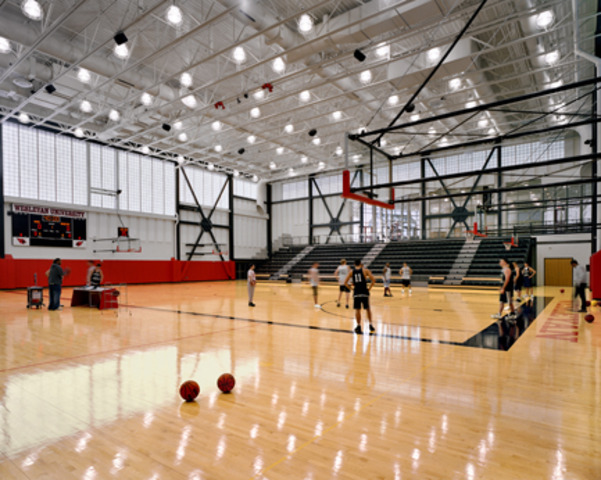 First basketball game