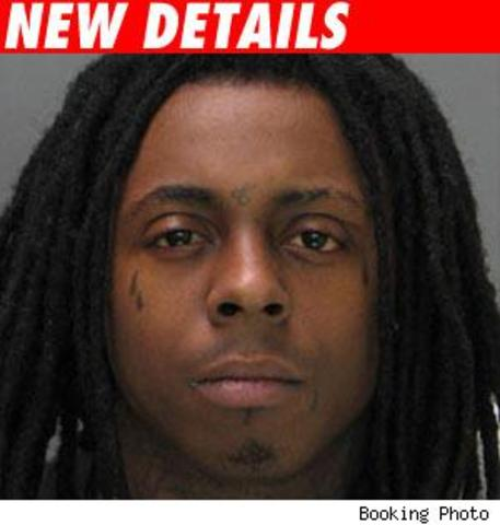Lil wayne goes to prision