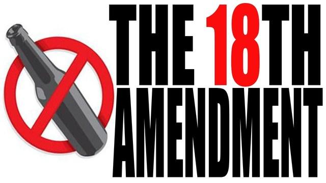 wilson veto the 18th amendment Congress overrides prohibition veto, oct 28  president woodrow wilson's veto of the  legislation for the recently ratified 18th amendment,.