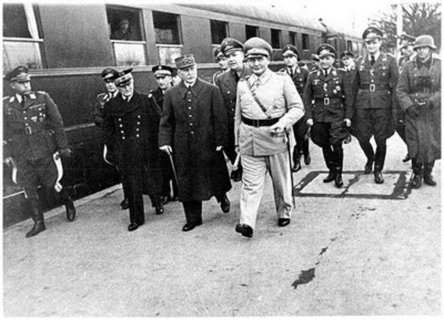 Vichy France begins