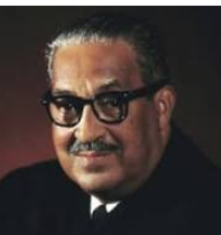 Thurgood Marshall Appointed to Supreme Court (1967)