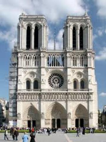 Catedral de Notre Dame de París.