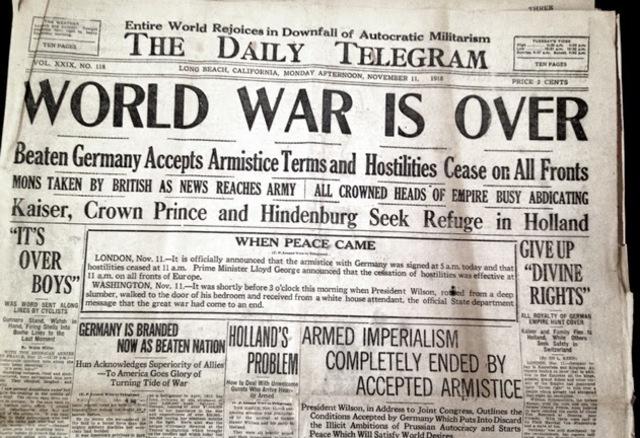 World War I Timeline Timetoast Timelines