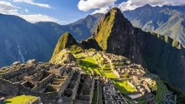 Machu Pico durante la era Inca