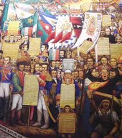 independizan México de España
