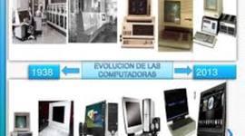 Generacion de las Computadoras timeline