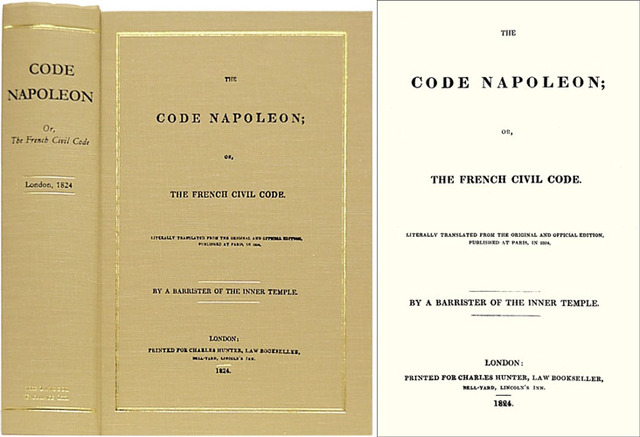 The Code Napoleon Was Revised, Changing the Norm of Men and Women