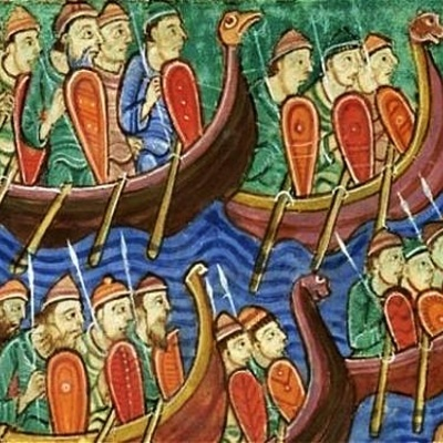 Vikingetiden i Danmark timeline