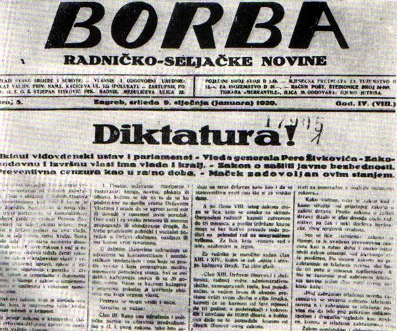 Uvodjenje diktature