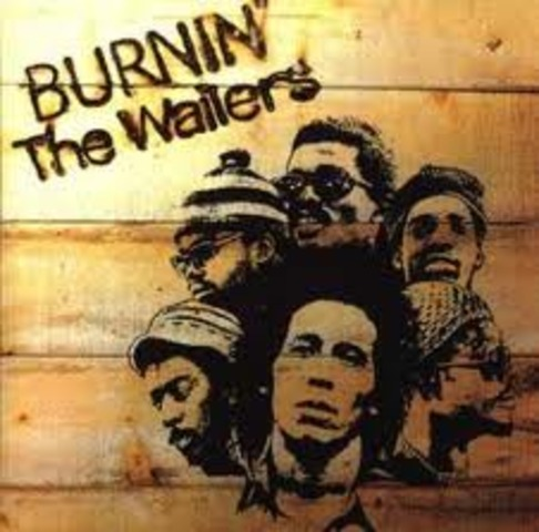 The walling wailers, as marley's band was not called,had a jamaican hit with the song simmer down