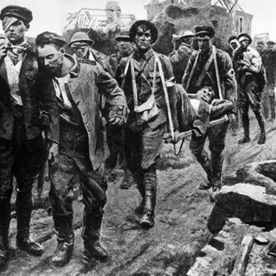 Eje cronológico de la I Guerra Mundial timeline
