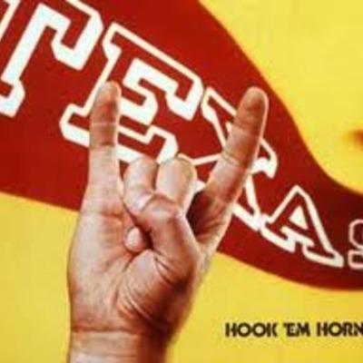 Hook-em horns timeline