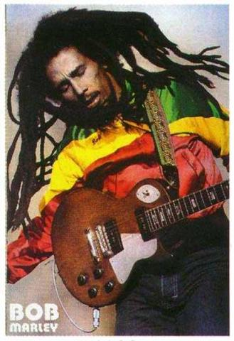 Marley returned to Jamaica to give a free concert