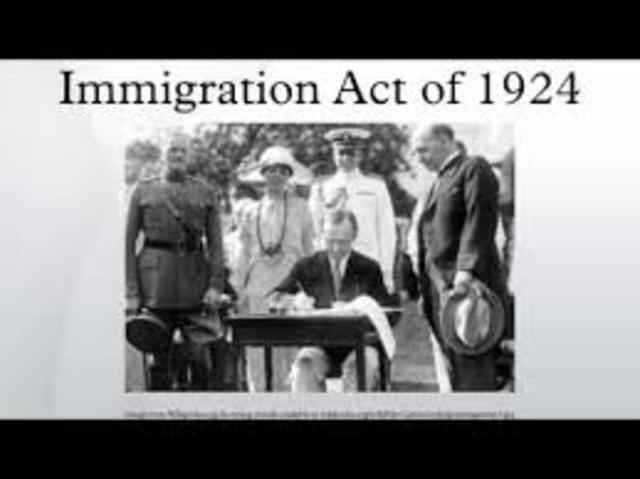 Politics and Popular Culture (Immigration Act of 1924)