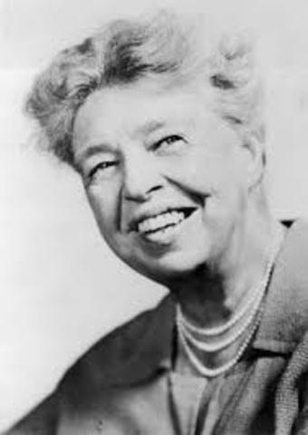 The Depression (Eleanor Roosevelt)