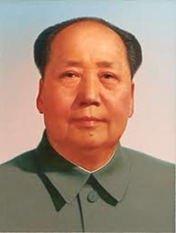 Mao Zedong Established Communist Rule in China