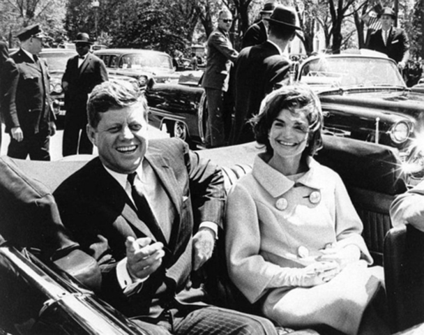 •	Kennedy Assassinated in Dallas, Texas (1963)