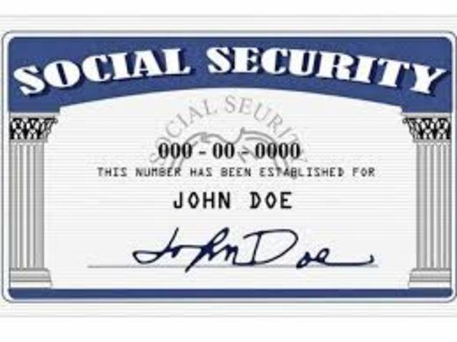 The depression law (Social Security Act)