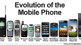 Innovaciones de los teléfonos moviles timeline