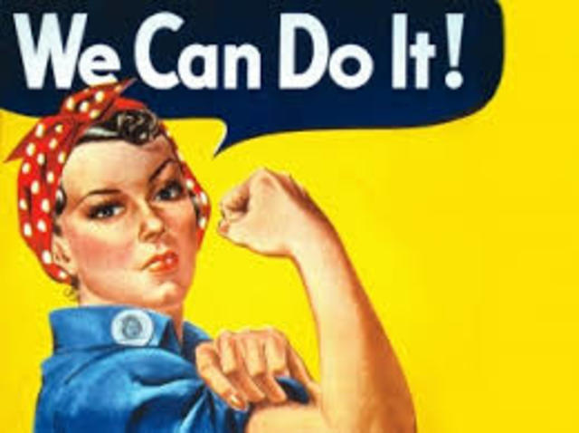 The American Home-front (Rosie The Riveter)