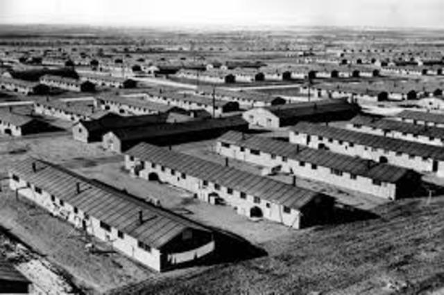 The American home-front (Internment Camp)