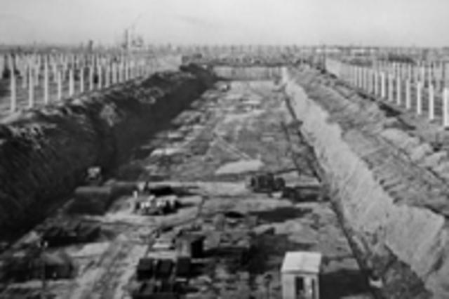 Начало строительства Волжского автомобильного завода (ВАЗ)