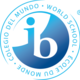 Ib world school logo 2 colour