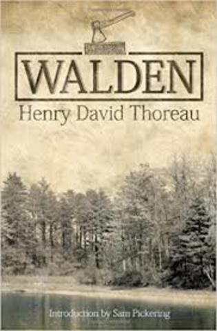 """H.D.Thoreau ; """"Walden"""""""