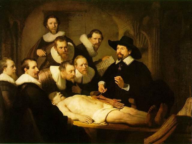 Lección de Anatomía del Doctor Tulp