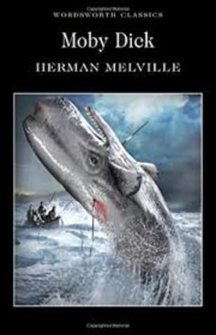 """Herman Melville ; """"Moby Dick"""""""
