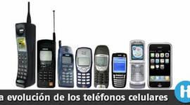 evolución de los celulares  timeline