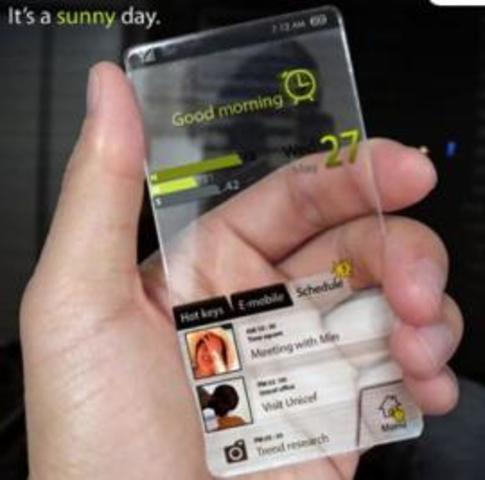 Futuro tecnológico en los celulares
