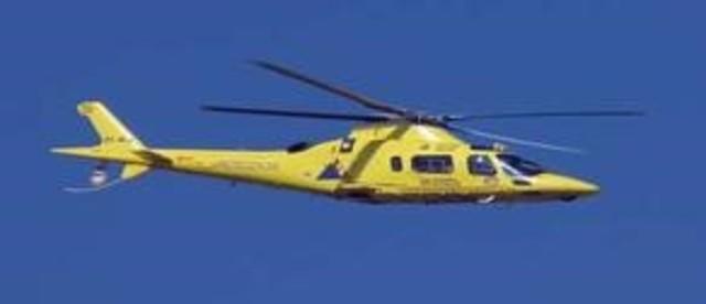 Avión de hélice y helicóptero