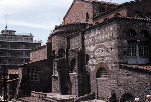 Ανατολική πλευρά του ναού