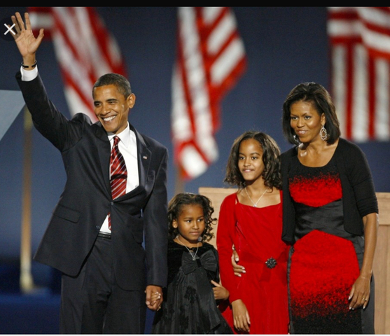Senator Barack Obama of Illinois was elected president of the United States.  Obama became the 44th president,