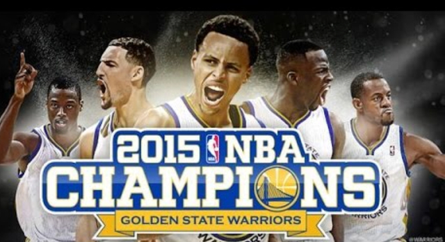 In the NBA the hampions Golden State Warriors defeat the Eastern Conference champion Cleveland Cavaliers in six games to secure their first NBA Finals championship title in 40 year