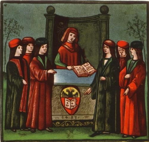 Fundación de las primeras universidades