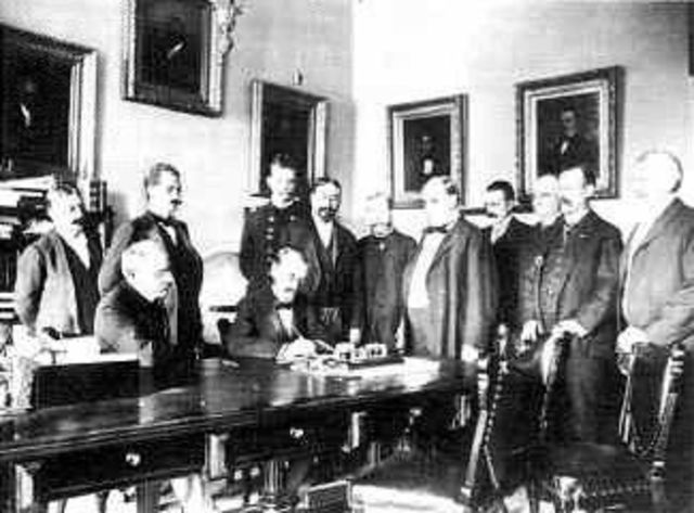 Treaty of Paris signed