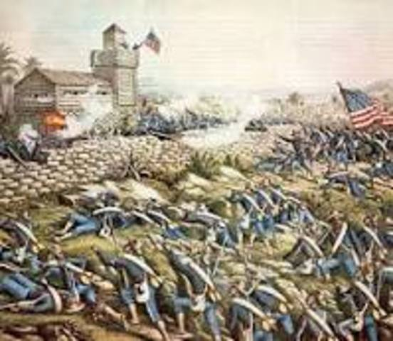 Battle of San Juan Hill in Cuba