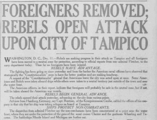 Tampico Incident