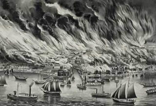 Gran incendio de Chicago